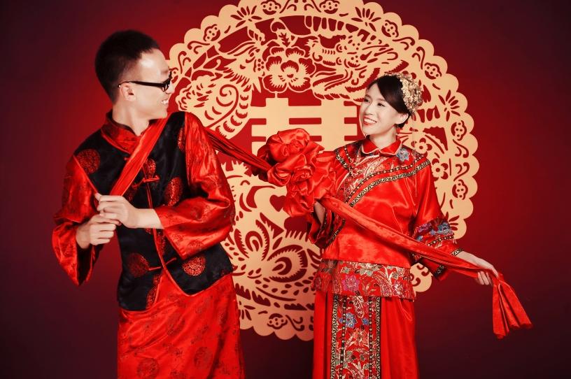 秀鳳中式禮服